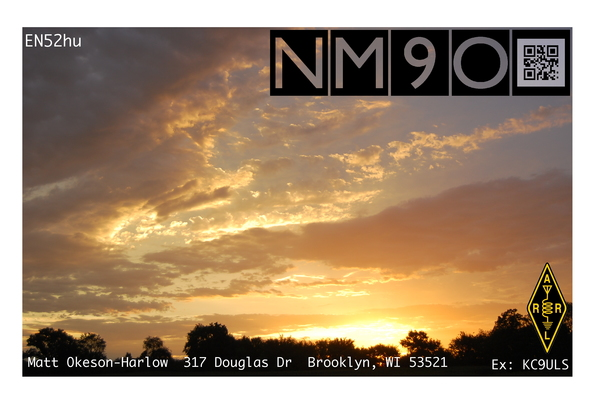 Current QSL Card